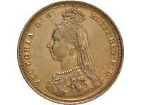 GOLD SOVEREIGN. Queen Victoria.