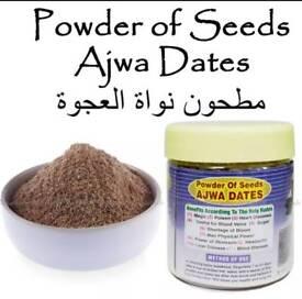 Ajwa Dates Seeds Powder