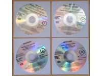 LENOVO Thinkcentre M92z Windows 8 Pro Applications & Driver Recovery DVDs x4