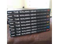 The Walking Dead Books 1 - 8 **Like New** £90