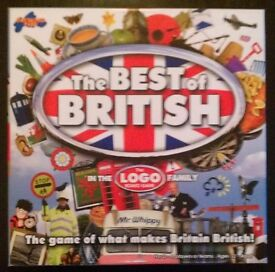 'The Best Of British' Logo Board Game (new)