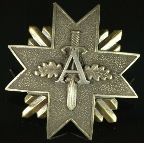 RARE Orig. Latvia 1920-30s Aizsargi (Guards) Army Breast Badge