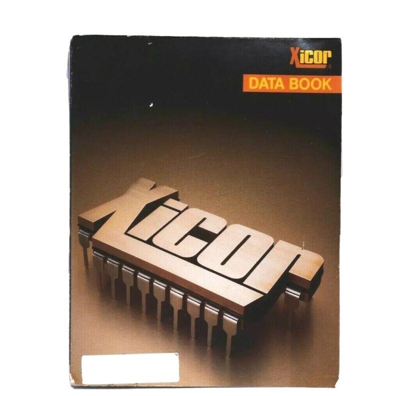 XICOR Data Book 1988