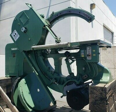 Rare 1980 Tannewitz Model B-11 38 Automatic Bevel Tilting Band Saw 100k New