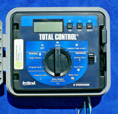 Irritrol Total Control TC-6EX-R 6 Station EXT / INT sys -Fst Shp,Warranty,Tested