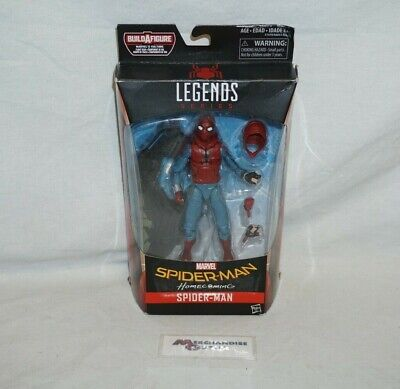 "Hasbro Marvel Legends Spiderman Homecoming Homemade Suit 6"" Action Figure"