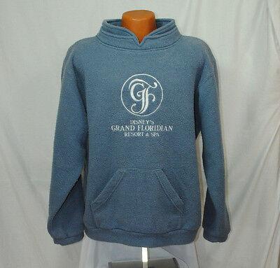 Disney Size XL XXL Grand Floridian Blue Sweatshirt Resort Spa Embroidered