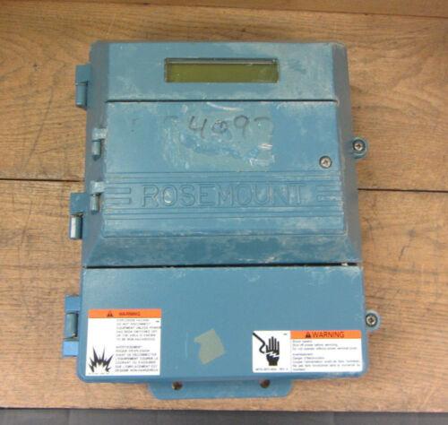 Rosemount 8712cr12nom4b6 Magnetic Flow Transmitter Used Csq