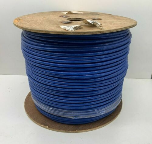 (1000ft) CAT6 SFTP Braid Shielded & Foiled with Unshielded Pairs 23AWG LAN Cable