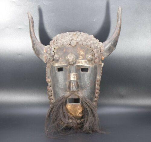 Shamanic Old Rare Shaman tribal Himalayan Mountain Ethnic Old Antique Mask Nepal