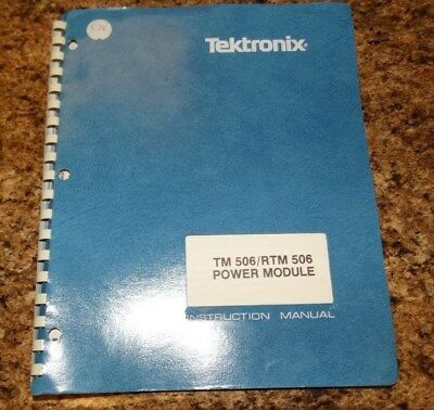Tektronix Tm 506 Instruction Manual