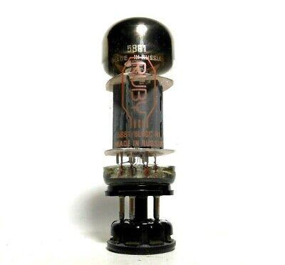 Ruby EH Electro-Harmonix 5881 6L6WGC-RI Output Tube 5881R Test @ 100% NOS Output