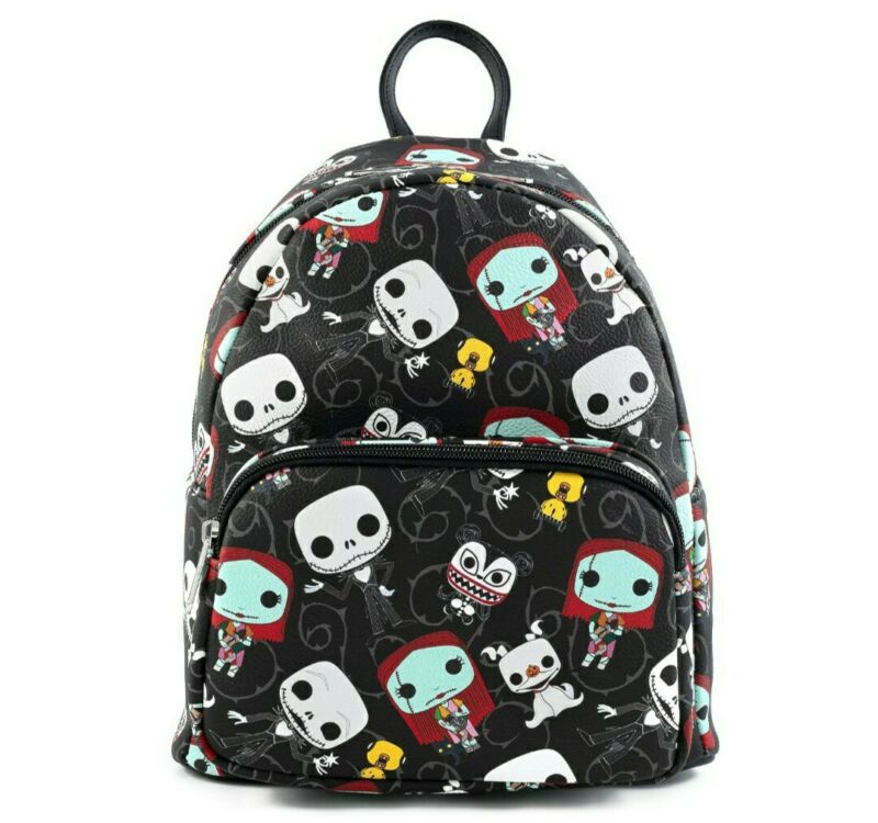 "DISNEY: The Nightmare Before Christmas  ""Jack and Sally"" - Mini Funko Backpack"