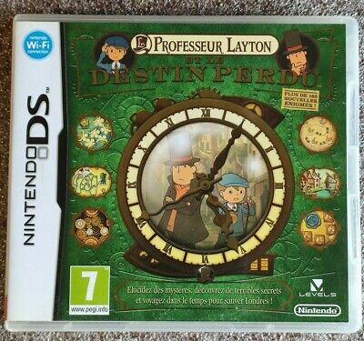 Professeur Layton Et Le Destin Perdu FR jeu Nintendo DS DSI 3DS 2DS NEW3DS ...
