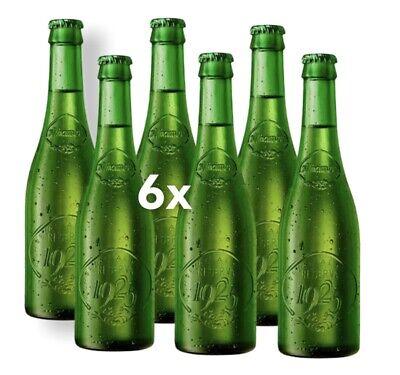 6 Botellas Alhambra Reserva 1925 Lager Cerveza 0,33L 6,4% Alc. De España