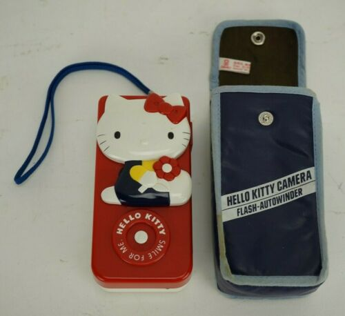 Vintage Fuji Hello Kitty Camera with Case UNTESTED