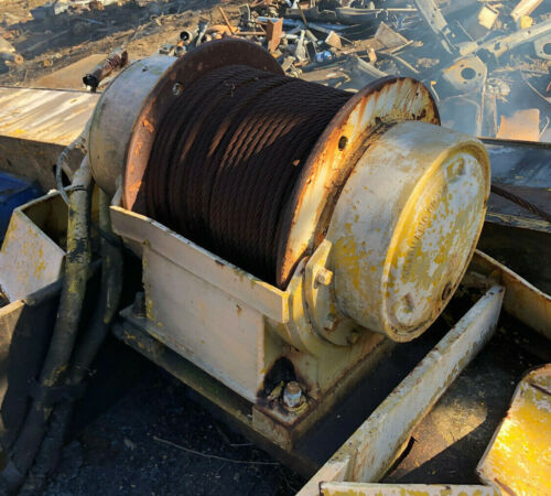 Gearmatic Winch Hydraulic Model 11 - SC Used Good working Condition