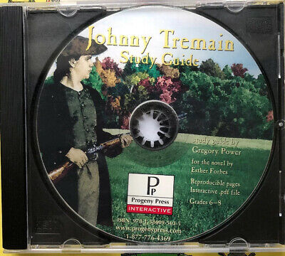 JOHNNY TREMAIN STUDY GUIDE CD-ROM By Gregory Power (Progeny Press) Cd Rom Study Guide