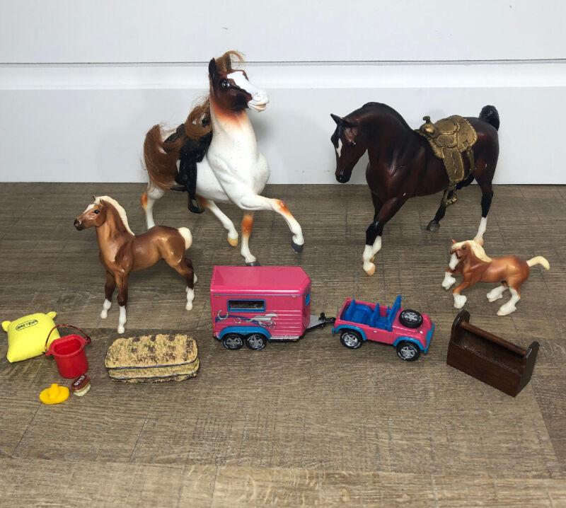 Vintage Horses Lot Breyer Toys Figurines