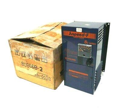 New Yaskawa Cimr-g08as2-0020 Juspeed-f Transistor Inverter Ser.s2 Cimrg08as20020