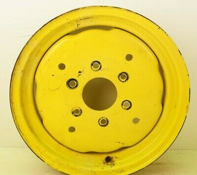 Used John Deere Compact Tractor 1070 2wd Front Wheel Rim 16 Jd 4x16 6.5