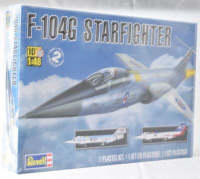 Revell F-104G Starfighter 1:48 Scale Plastic Airplane Model Plane Kit 85-5324