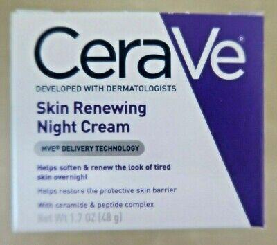 CeraVe Skin Renewing Night Cream Soften & Renew - 1.7oz New w/ Free Shipping