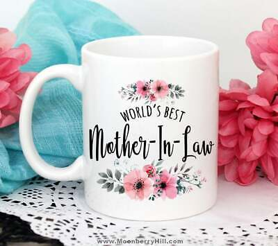 Mother In Law Gift Mother In Law Wedding Mother In Law Mug Best Mother Ever