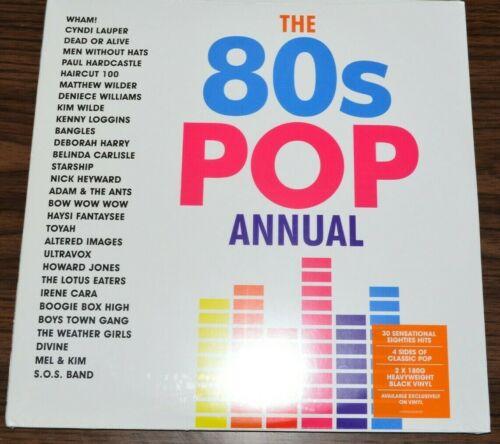 The 80s Pop Annual 2x 180G Vinyl Record SEALED Wham Lauper Loggins
