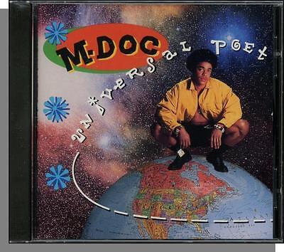 M Doc    Universal Poet   New 1991 Polygram  14 Song Rap Cd