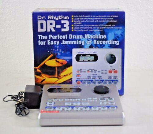 BOSS DR-3 Dr. Rhythm drum machine dr3