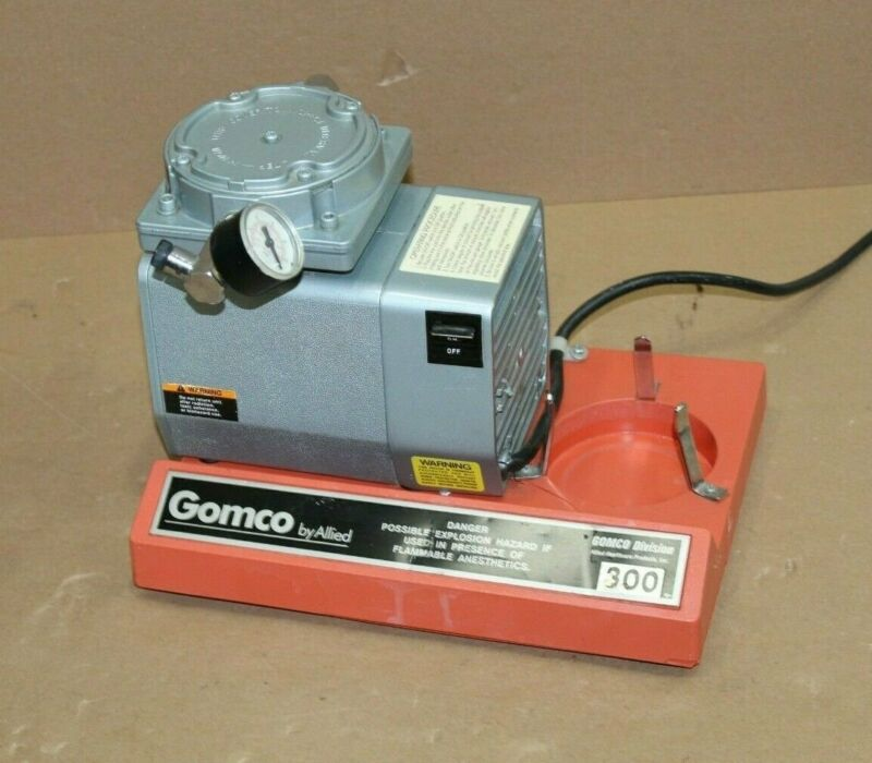 Allied Healthcare Gomco 300 Suction Pump -See Images