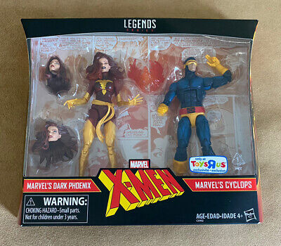 MARVEL LEGENDS DARK PHOENIX & CYCLOPS TOYS R US EXCLUSIVE X-MEN TRU NEW SEALED