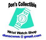 Don's Collectible Wrist Watch Shop
