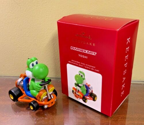 Hallmark 2020 Mario Kart Yoshi Keepsake Xmas Ornament NIB