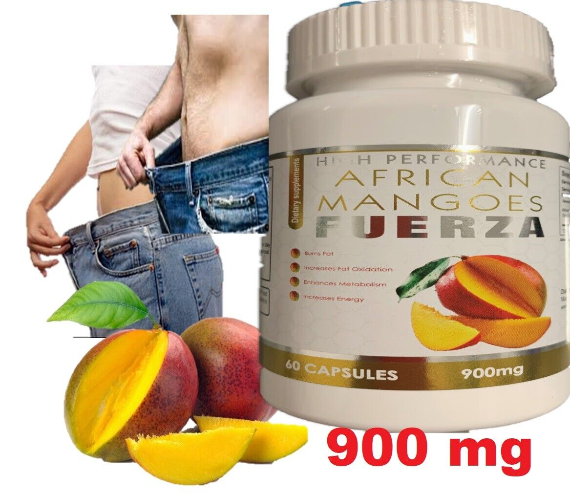 Extreme weight loss pills - PURE AFRICAN MANGO EXTRACT 900mg 1 Bottle 60 Caps 2