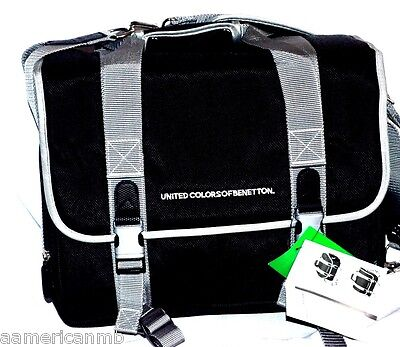 United Colors Benetton Camera Bag Case Computer Laptop Shoulder Bag Backpack UCB