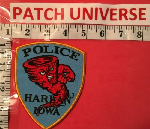 HARIAN IOWA POLICE  SHOULDER  PATCH  K071