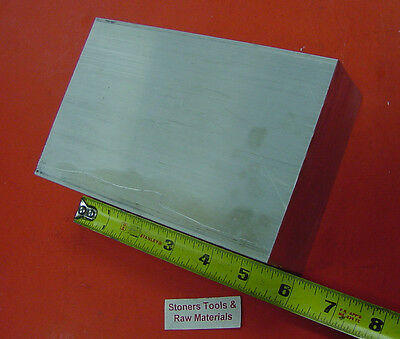 2 X 4 Aluminum 6061 Flat Bar 6 Long Solid T6511 Plate New Mill Stock 2.00