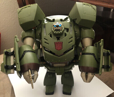Transformers Animated 2007 Bulkhead Voyager Class Figure