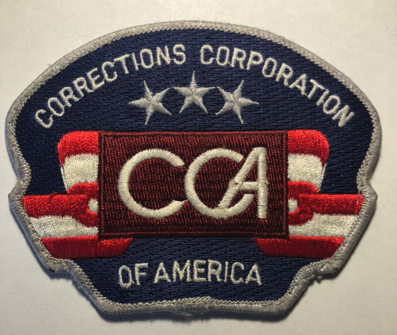 Corrections Corporation of American CCA Patch