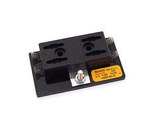 motorcycle fuse block bussmann atc fuse panel block • 4 position • 15600 04 20 •