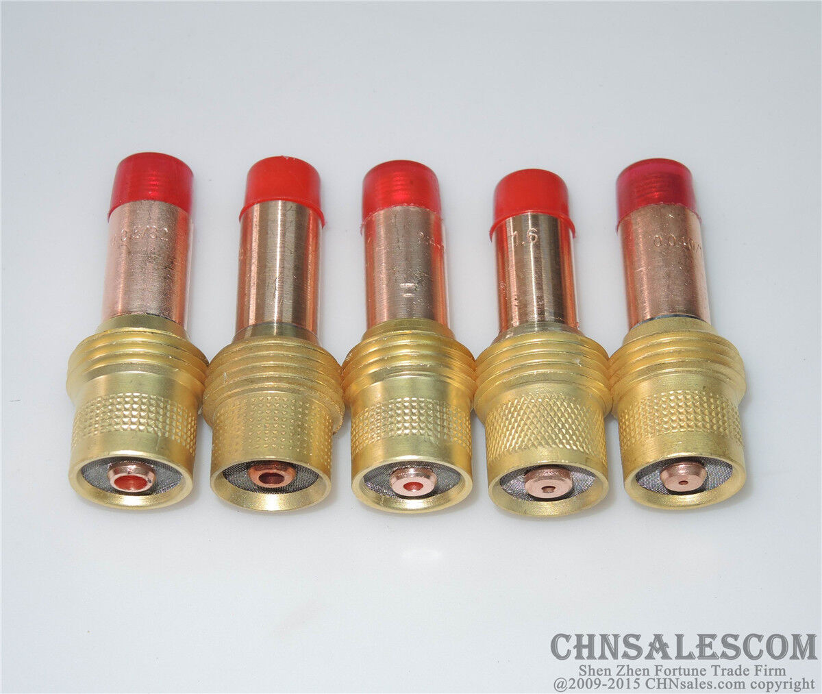 """Tig Gas Lens Collet Body 45V27 Gas Lens 1//8/"""" fits WP17 WP18 WP26 Pack of 5"""