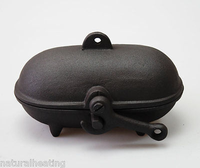 Cast Iron BAKED POTATO COOKER use on Wood Burners & Multifuel Stoves GSP SHIP