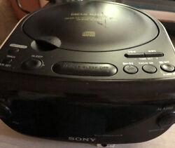 Sony Dream Machine CD Player AM/FM Radio Alarm Clock Works Great