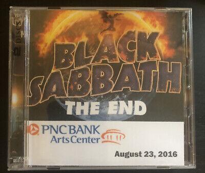 Black Sabbath 8/23/16 PNC Arts Center NJ Live 2 Cd Rare Not Tmoq The End