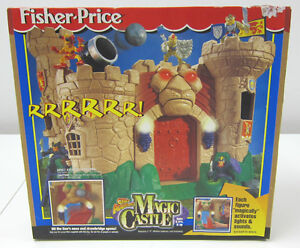 RARE NEW 1999 Mattel Fisher Price Great Adventures Magic Castle w/Sound & Light