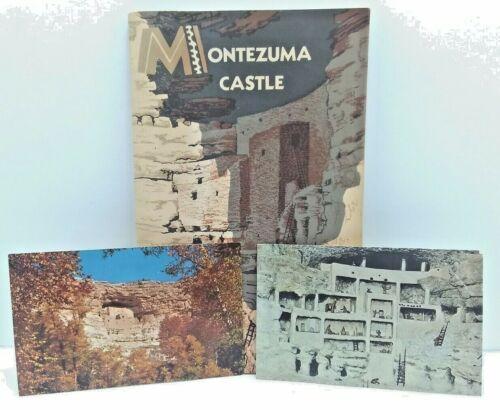 Montezuma Castle Souvenir Booklet And Two Postcards 1961 Good Condition
