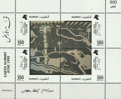 KUWAIT - 1992 - Earth summit - Miniature sheet - MNH