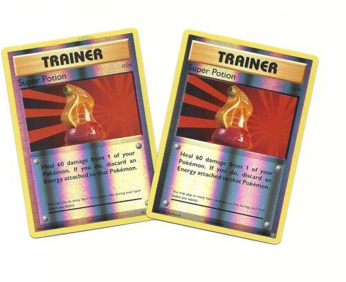 4x Pokemon XY Evolutions Super Potion 87//108  Uncommon Card